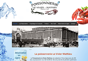 site poissonnerie mathieu nimes